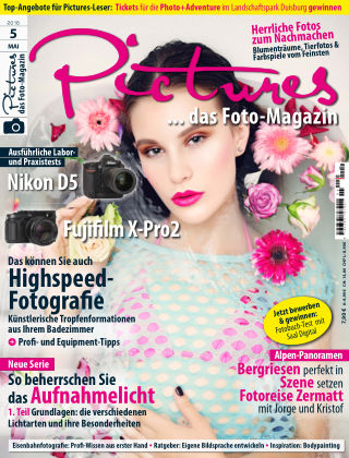 Pictures - Das Foto-Magazin Nr 05 2016