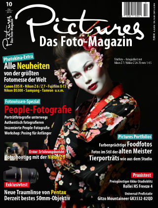 Pictures - Das Foto-Magazin Nr 10 2018