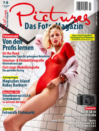 Pictures - Das Foto-Magazin Nr 07-08 2019