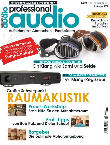 Professional audio Magazin July 26, 2016 00:00