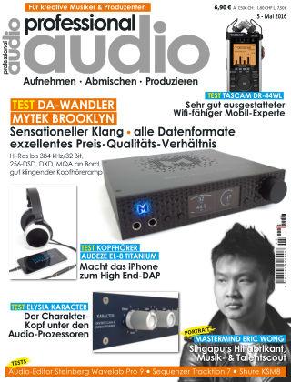 Professional audio Magazin Nr 05 2016