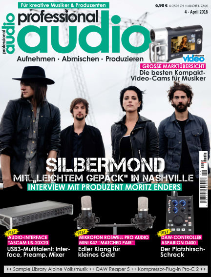 Professional audio Magazin March 24, 2016 00:00