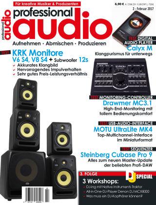 Professional audio Magazin Nr 02 2017