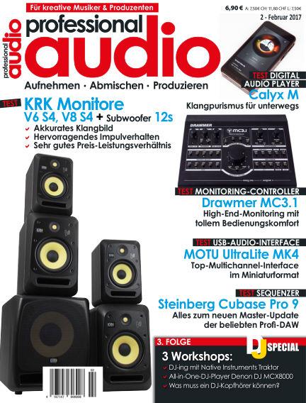Professional audio Magazin January 25, 2017 00:00