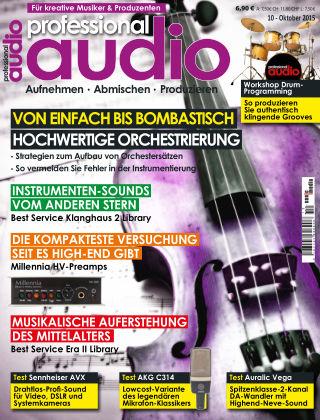 Professional audio Magazin Nr 10 2015
