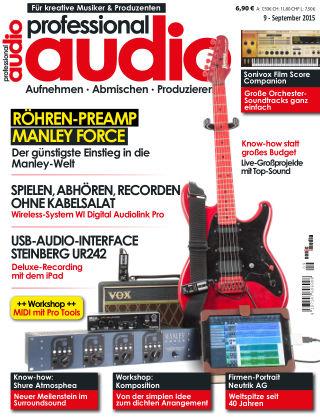 Professional audio Magazin Nr 09 2015