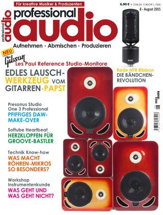 Professional audio Magazin Nr 08 2015