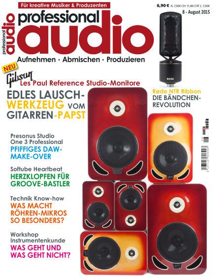Professional audio Magazin July 31, 2015 00:00