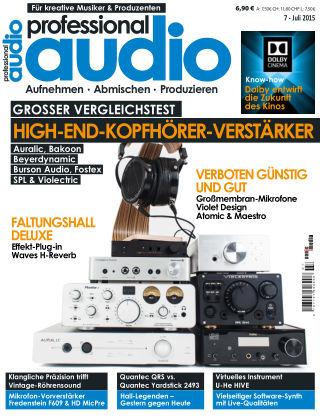 Professional audio Magazin Nr 07 2015