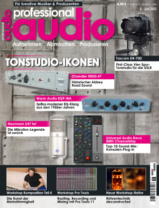 Professional audio Magazin Nr 06 2015