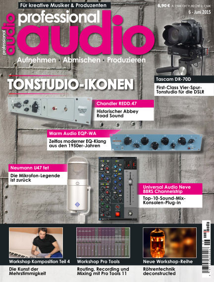 Professional audio Magazin May 29, 2015 00:00