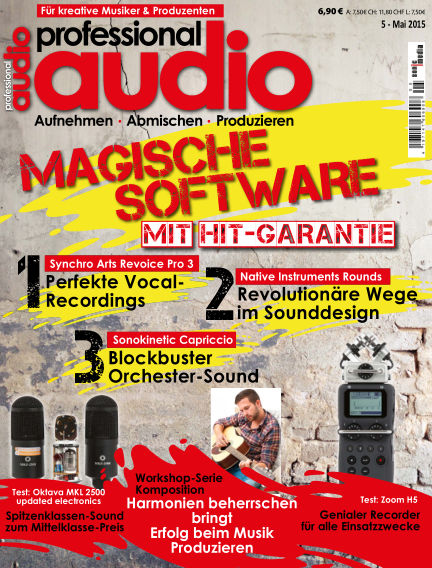 Professional audio Magazin April 24, 2015 00:00