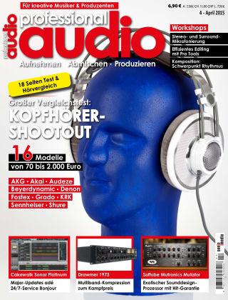 Professional audio Magazin Nr 04 2015