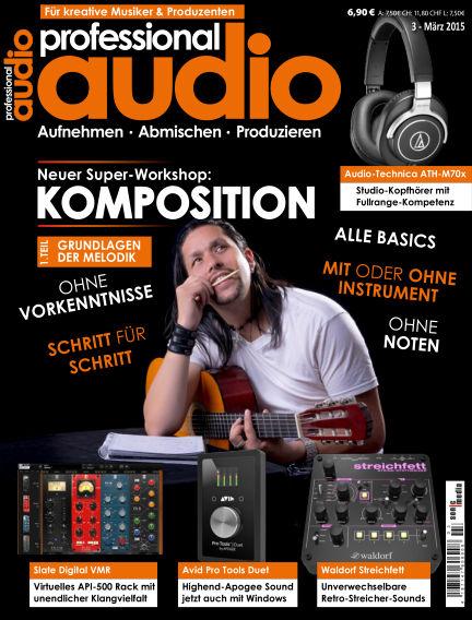 Professional audio Magazin February 27, 2015 00:00