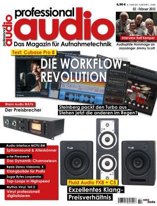 Professional audio Magazin Nr 02 2015