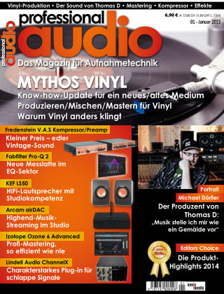 Professional audio Magazin Nr 01 2015