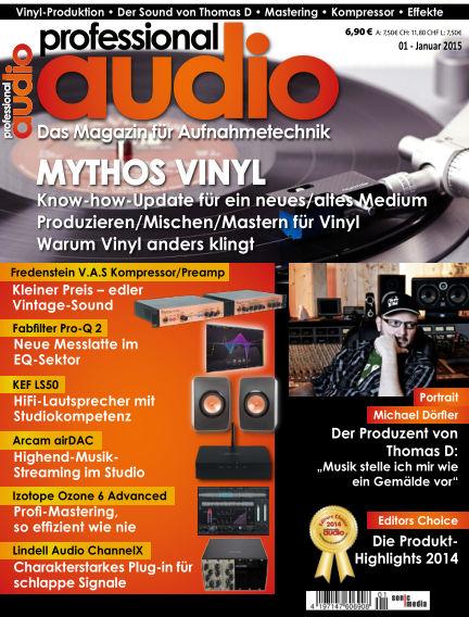 Professional audio Magazin December 19, 2014 00:00