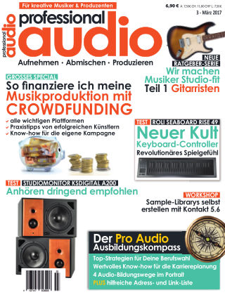 Professional audio Magazin Nr 03 2017
