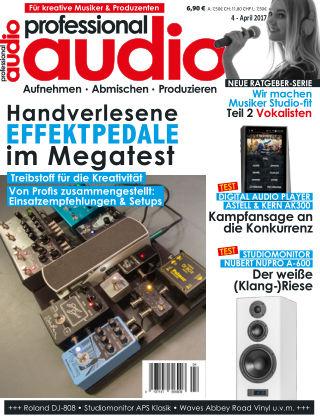 Professional audio Magazin Nr 04 2017