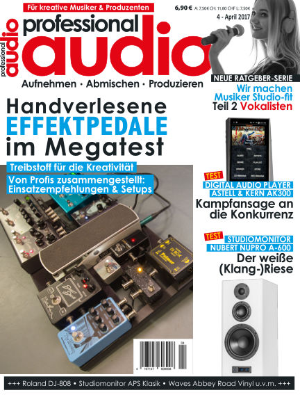 Professional audio Magazin March 28, 2017 00:00
