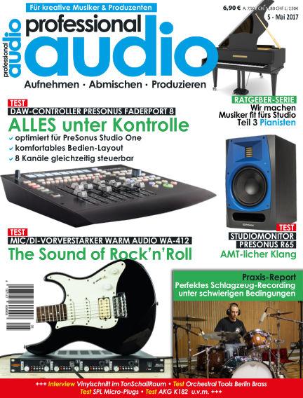 Professional audio Magazin April 26, 2017 00:00