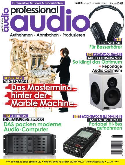 Professional audio Magazin May 24, 2017 00:00