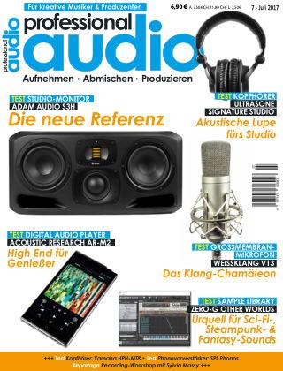 Professional audio Magazin Nr 07 2017