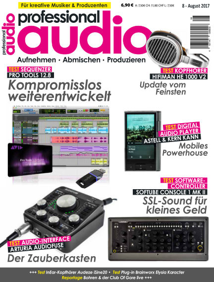 Professional audio Magazin July 25, 2017 00:00