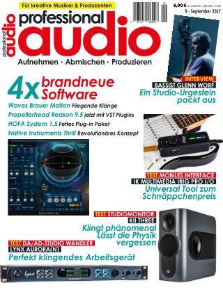 Professional audio Magazin Nr 09 2017