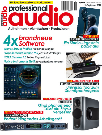 Professional audio Magazin August 22, 2017 00:00
