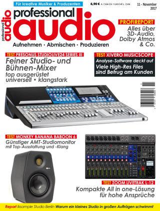Professional audio Magazin Nr 11 2017