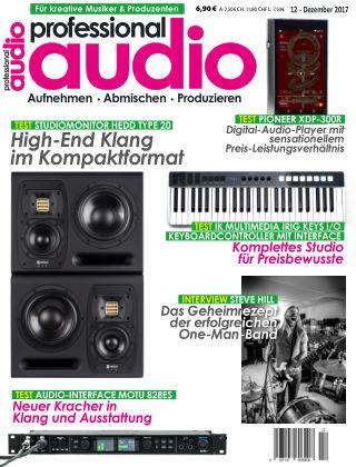 Professional audio Magazin Nr 12 2017