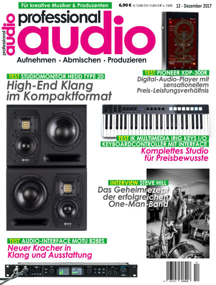 Professional audio Magazin November 21, 2017 00:00