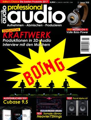 Professional audio Magazin Nr 01 2018