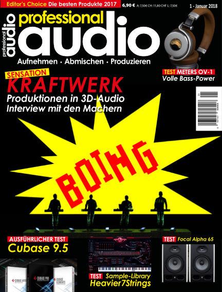 Professional audio Magazin December 19, 2017 00:00