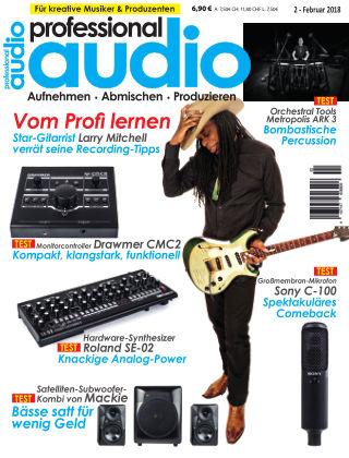 Professional audio Magazin Nr 02 2018