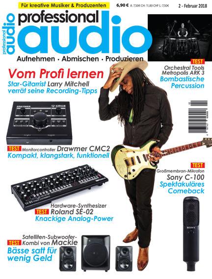 Professional audio Magazin January 23, 2018 00:00