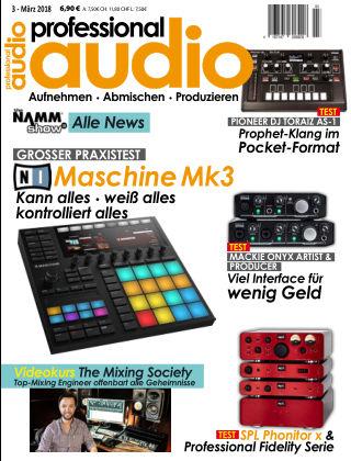 Professional audio Magazin Nr 03 2018