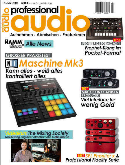 Professional audio Magazin February 20, 2018 00:00
