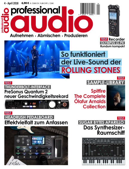 Professional audio Magazin March 28, 2018 00:00