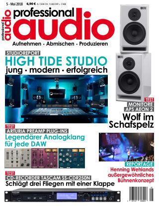Professional audio Magazin Nr 05 2018
