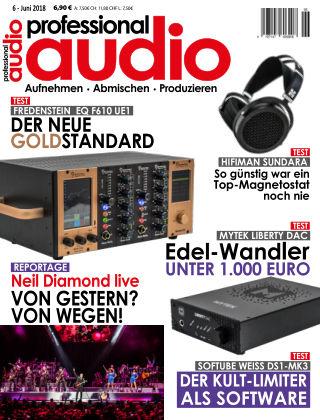 Professional audio Magazin Nr 06 2018