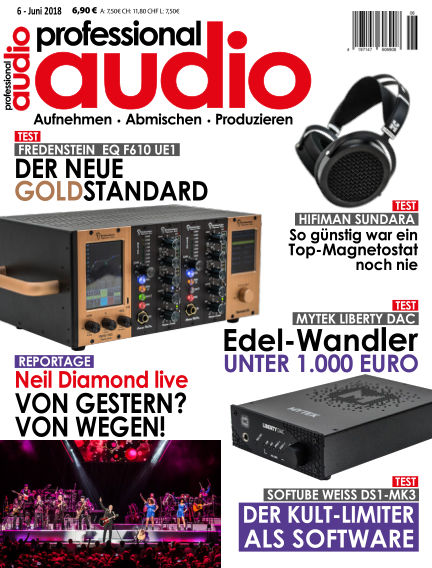 Professional audio Magazin May 29, 2018 00:00