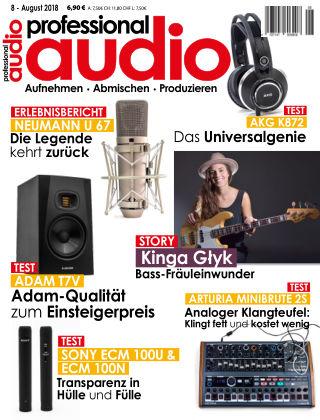 Professional audio Magazin Nr 08 2018