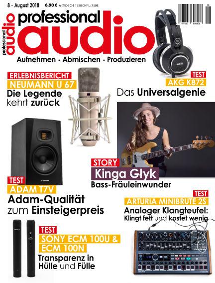 Professional audio Magazin July 24, 2018 00:00
