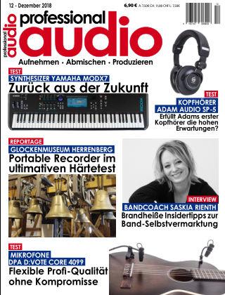 Professional audio Magazin Nr 12 2018