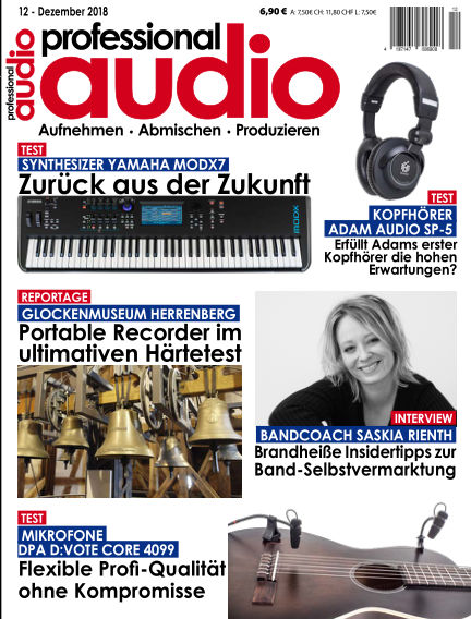 Professional audio Magazin November 27, 2018 00:00