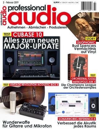 Professional audio Magazin Nr 02 2019