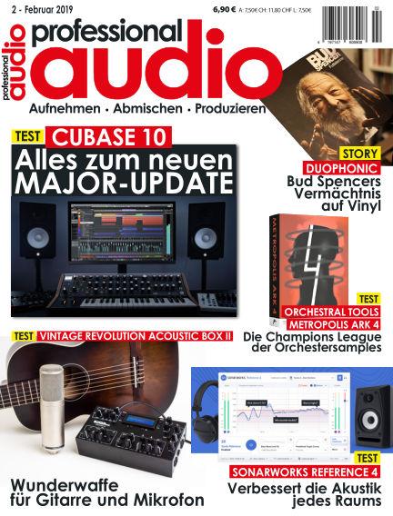 Professional audio Magazin January 29, 2019 00:00