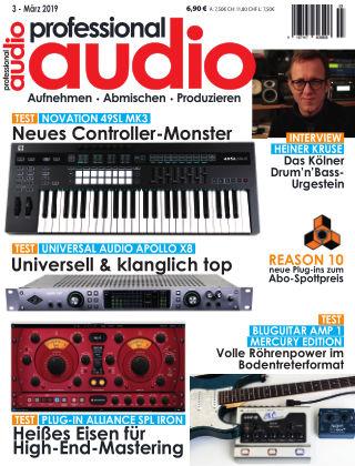 Professional audio Magazin Nr 03 2019